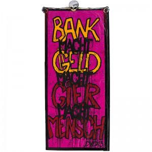 OZM Gallery Dirk Vorndamme © a) Was macht Bank? | b) Was ist dahinter?