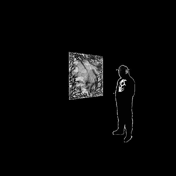 Bild mit Person 180 cm groß