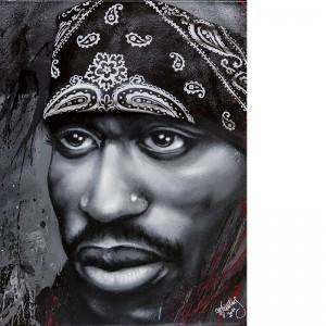 OZM Gallery Michael Kiessling © 2011 Tupac