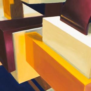 OZM Gallery Simo © Wenn s dämmert Tempera auf Leinwand 130 x 210 cm 2007