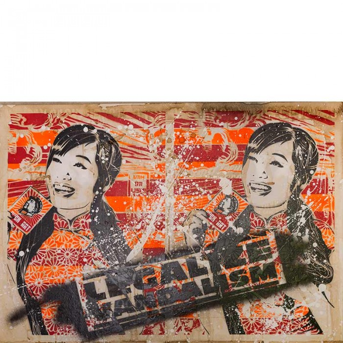 OZM Gallery mittenimwald © 2014 Who killed Vandalism