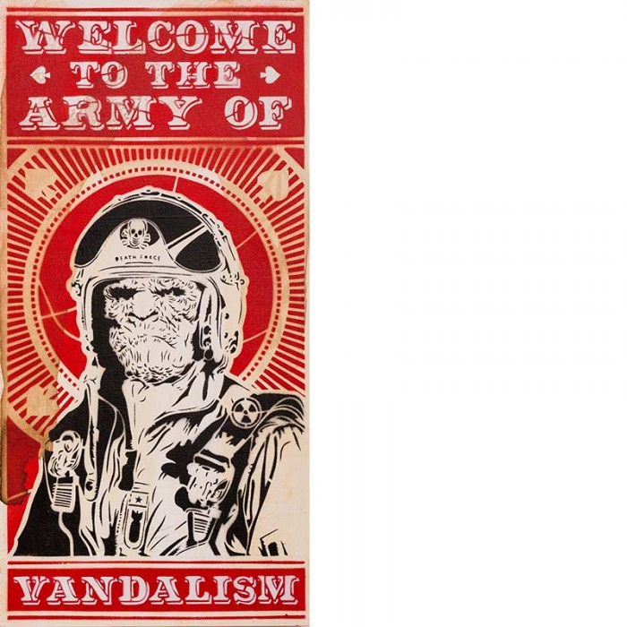 OZM Gallery mittenimwald © 2016 Army of Vandalism