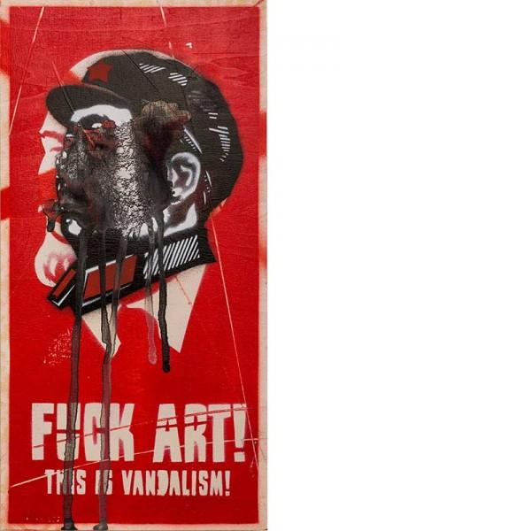 OZM Gallery mittenimwald © 2016 Fuck Art
