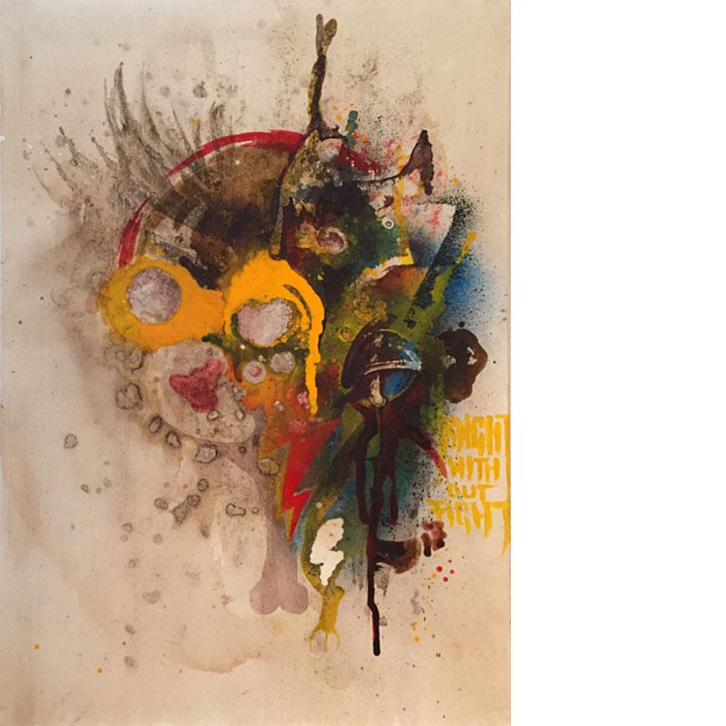 Danny Doom | Roadkill on Canvas II