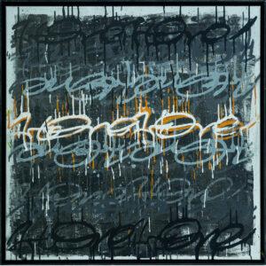 ArtOne | Cross Over Tag Square Lava