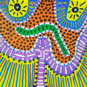 Oz   Kreative, farbige, ursprüngliche Natur